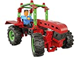 fischertechnik 544617 Tractor - Konstruktionsspielzeug ab 7 Jahre - 3 landwirtschaftliche Modelle...
