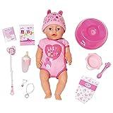 Zapf Creation 824368 BABY born Soft Touch Girl Puppe mit lebensechten Funktionen und viel Zubehör,...