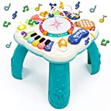 Fajiabao Spieltisch Baby Spielzeug 6 in 1 - Kinderspielzeug ab 2 3 4 5 6 Jahre Kinder Spielzeug...