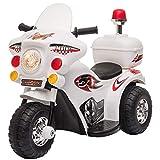 HOMCOM Elektro Kindermotorrad Kinderfahrzeug Elektrofahrzeug mit Musik und Beleuchtung 18-36 Monate...