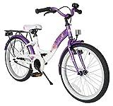 BIKESTAR Premium Sicherheits Kinderfahrrad 20 Zoll für Mädchen ab 6-7 Jahre ★ 20er Kinderrad...