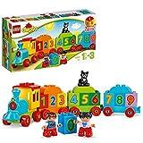 LEGO 10847 DUPLO My first Zahlenzug, preisgekröntes Bauset mit großen Zahlensteinen,...