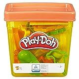 Play-Doh Basisbox mit 5 Dosen Knete und 15 Förmchen, für fantasievolles und kreatives Spielen, ab...