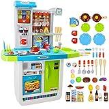 deAO 'My Little Chef' Küchen Spielset mit Klängen, Touchscreen-Panel und Wasserspiele - Mehr als...
