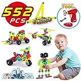 TINOTEEN LUKAT Bausteine Spielzeug für 5, 6, 7, 8, 9 Jahre und älter Kinder, Gebäude Lernen...
