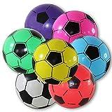 Unbekannt 4 x Kunststoffball Fussball Ball 20 cm