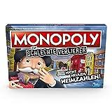 Monopoly für schlechte Verlierer Brettspiel ab 8 Jahren – Das Spiel, bei dem es Sich auszahlt, zu...