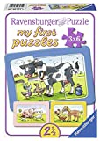 Ravensburger Puzzle Kinder Gute Tierfreunde, Rahmenpuzzle, My First Puzzles Für Kinder Ab 2.5...