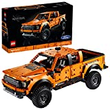 LEGO 42126 Technic Ford F-150 Raptor Pick-Up-Truck, Modellauto für Erwachsene, Exklusives...