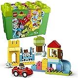 LEGO 10914 DUPLO Classic Deluxe Steinebox Bauset mit Aufbewahrungsbox, erste Steine Lernspielzeug...