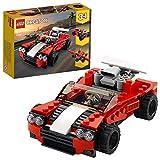 LEGO 31100 Creator 3-in-1 Sportwagen-, Hot Rod-, Flieger-Bauset, Spielzeuge für Jungen und Mädchen...