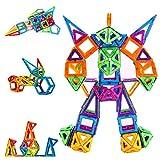 Condis Magnetische Bausteine 114 Teile Magnetspielzeug Magnete Kinder Magnetbausteine Magnet...