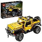 LEGO 42122 Technic Jeep Wrangler 4x4 Spielzeugauto, Geländewagen, SUV Modell Bauset für Kinder und...
