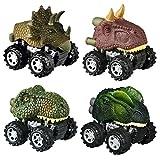 SOKY Geschenke für Jungen ab 3-8, Dinosaurier ziehen Autos zurück Spielzeug für Jungen ab 3-8...