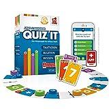 Rudy Games Quiz it - Interaktives Quiz-Spiel mit App – Fragen aus unterschiedlichsten...