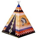 Nick and Ben Kinder-Spielzeug Indianer-Tipi Spiel-Tipi Spiel-Zelt Wigwam Indianer-Zelt...
