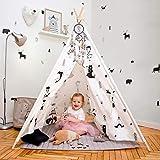 Hakuna Matte Tipi Zelt für Kinder – Stilvolles Spielzelt im skandinavischen Design mit...