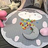 JameStyle26 Kinder Spielmatte Aufräumsack Spieldecke Teppich Kinderzimmer Kinderteppich Matte...