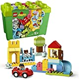 LEGO 10914 DUPLO Classic Deluxe Steinebox Bauset, Aufbewahrungsbox, erste Steine, Lernspielzeug für...