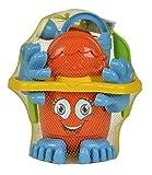 Simba 107113021 - Eimergarnitur mit Füßen, Sandspielzeug, Sandkasten, Wasserspielzeug, 11 Teile,...
