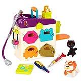 B. toys by Battat – B. Pet Vet – Tierarztkoffer mit Arzt Zubehör und Plüschtieren für Kinder...