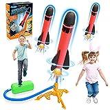 Stfitoh Outdoor Spielzeug ab 3 4 5 6 7 8 9 10 Jahre Junge,Rakete Spielzeug für Draußen Kinder...