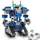 Gxi STEM Ferngesteuerter Roboter Spielzeug Bausatz - 405 Teile Roboterbausatz für Kinder -...
