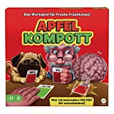 Mattel Games GTJ54 - Apfelkompott Kartenspiel, verrücktes Partyspiel ab 12 Jahren, 4-10 Spieler