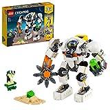 LEGO 31115 Creator 3-In-1 Weltraum-Mech Spielzeug mit Roboter und Lastenträger, Bauset mit...