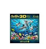 Bavaria Home Style Collection - 3D Premium Effekt Puzzle - Selfie Motive DefineTiere - 48 Puzzle...