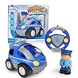 Maximum RC - RC Polizeiauto für Kleinkinder - abschaltbare Sound- und Musikeffekte - RC Auto für...