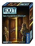 KOSMOS 694227 EXIT Das Spiel, Das mysteriöse Museum, Level: Einsteiger, Escape Room Spiel, für 1...