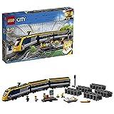 LEGO 60197 City Personenzug mit batteriebetriebenem Motor, ferngesteuertes Set mit...
