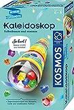 KOSMOS 657987 Kaleidoskop, Selbst bauen und staunen, Experimentier-und Bastel-Set mit Spiegeln,...