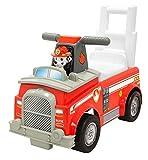 Jakks 55596 - Rutscherfahrzeug Paw Patrol, Marshall Feuerwehr Auto, mit Sound- und Lichtfunktion,...