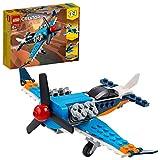 LEGO 31099 Creator 3-in-1 Propellerflugzeug-, Düsenflieger-, Hubschrauber - Spielset, Spielzeug...
