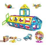 Condis Magnetische Bausteine 95 Teile, Magnetspielzeug Magnete Kinder Magnetbausteine Magnet...