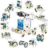 Latocos 14 in 1 Solar Roboter Bausatz STEM Roboter Spielzeug Kinder ab 8,9,10+ Jahren für Jungen...