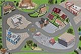 Stadt / Straßen Spielmatte (ähnlich Spielteppich)   SM05   Hochwertige City Spiel-Matte für das...