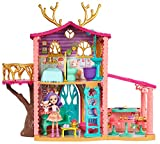 Enchantimals FRH50 - Rehmädchen Puppenhaus mit Danessa Deer und Tierfreund Sprint Puppen, Spielzeug...