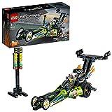 LEGO 42103 Technic Dragster Rennauto oder Hot Road, 2-in-1 Set mit Rückziehmotor, Sammlung von...