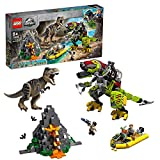 LEGO75938 - JurassicWorld T. Rex vs. Dino-Mech, Bauset