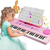 Magicfun Digital Keyboard, Digital Piano Mit 61 Tasten, Tragbare Elektronische Klaviertastatur...