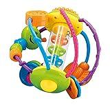 Bieco Motorikball für Babys ab 6 Monate | Greifball und Beißring mit Rassel | Motorikspielzeug |...