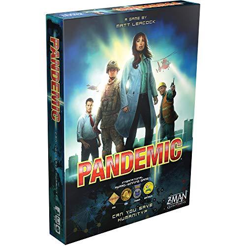 Pandemic bestes Kooperationsspiel - vom englischen Spiel Pandemic