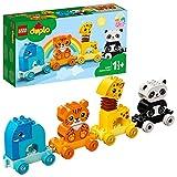 LEGO 10955 DUPLO Mein erster Tierzug mit Elefanten, Tiger, Panda und Giraffe für 1,5-jährige...