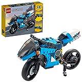 LEGO 31114 Creator 3-In-1 Geländemotorrad aus Bausteinen, klassisches Motorrad Spielzeug mit...