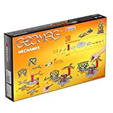Geomag 722 722-Mechanics, 146-teilig, gelb rot, 146 Stück