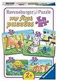 Ravensburger Kinderpuzzle - 06951 Niedliche Haustiere - my first puzzle mit 2,4,6,8 Teilen - Puzzle...