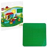 LEGO 2304 DUPLO Classic Große Bauplatte, Spielzeug für Vorschulkinder, grün